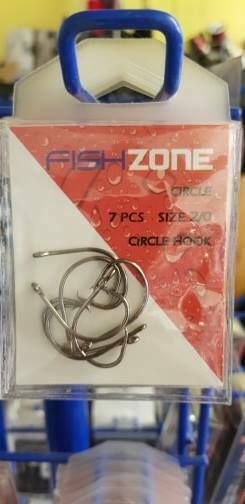 Circle hooks size 2/0 - super strong, super sharp